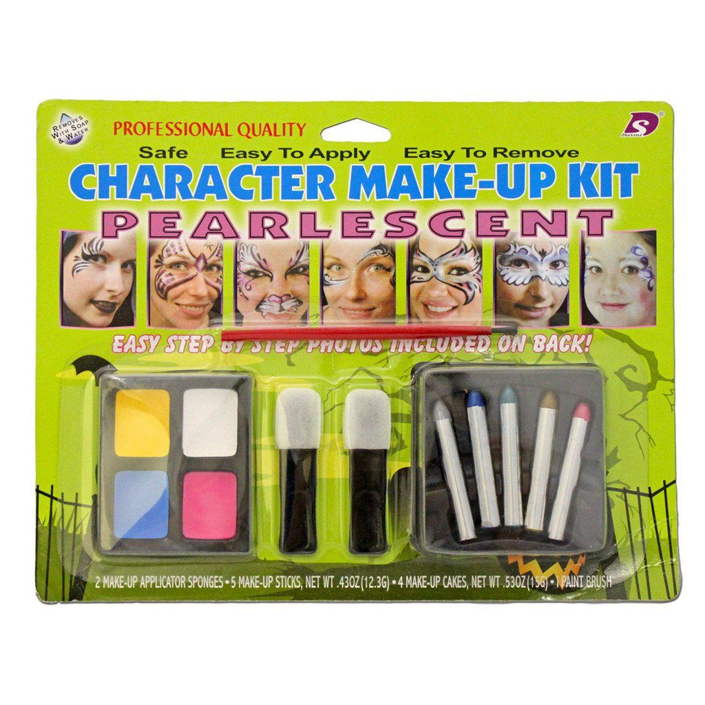 Fancy Dress Costume Accessory - Character Make Up Set Pearlescent