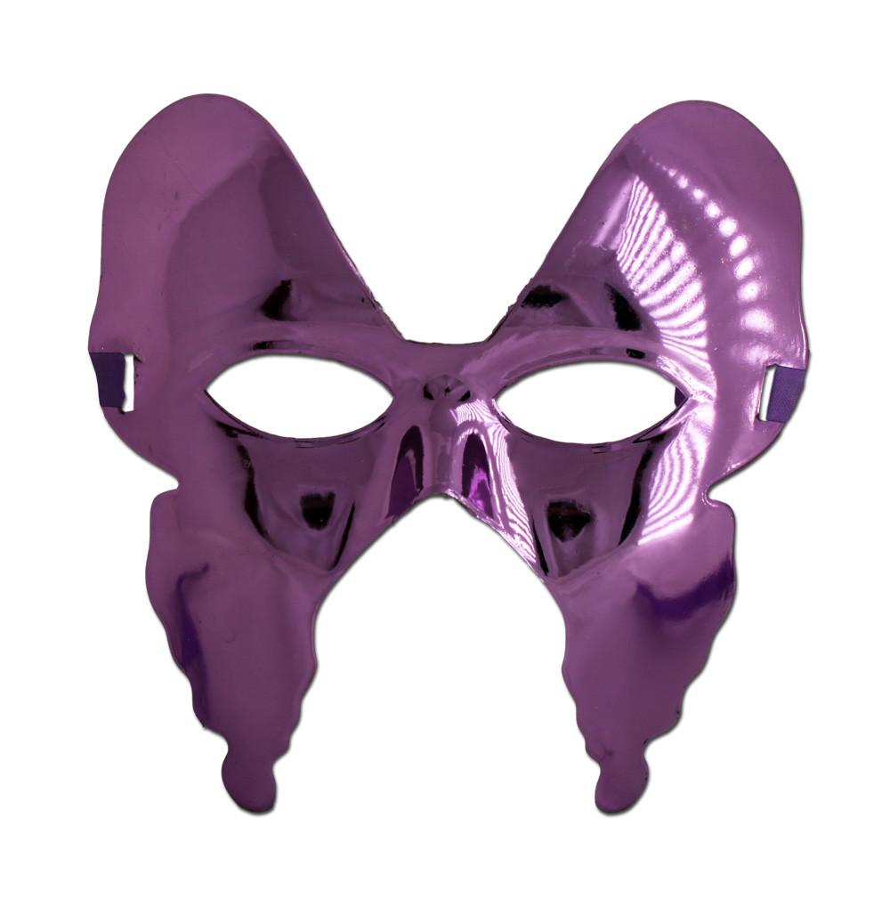 Masquerade Mask - Purple Butterfly Womens Masquerade Mask