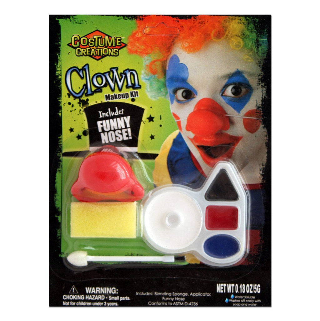 Character Make Up Set Clown - Fancy Dress Costume Accessory - Simply Party Supplies