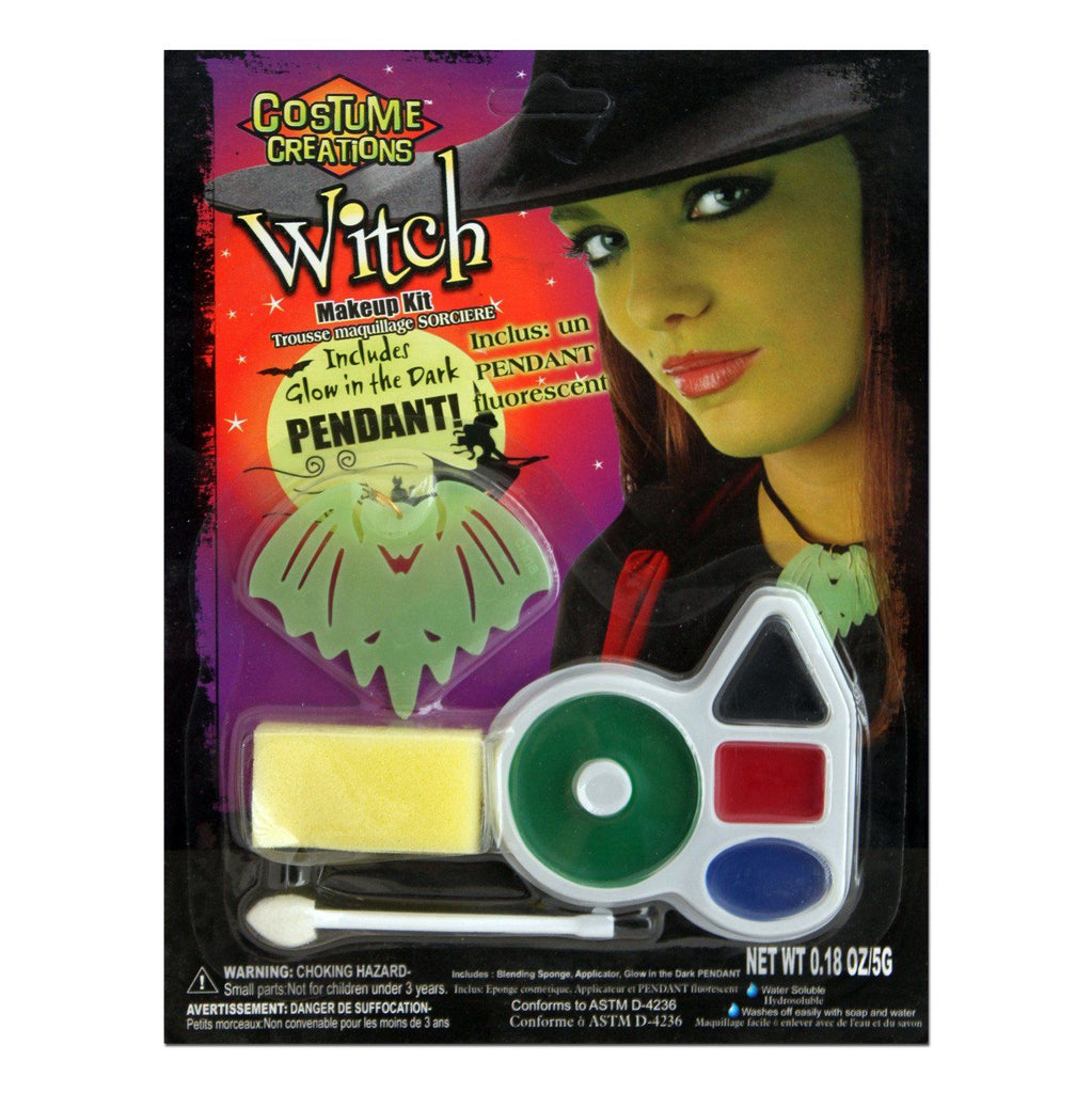 Fancy Dress Costume Accessory - Character Make Up Set Witch