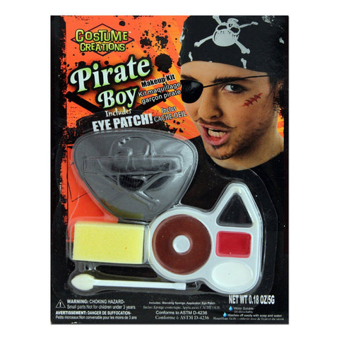 Character Make Up Set Pirate Boy