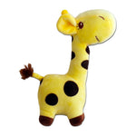 Giraffe Plush Toy - Yellow