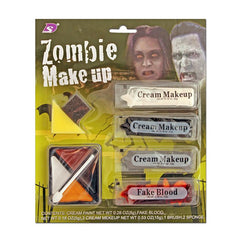Fancy Dress Costume Accessory - Zombie Makeup Kit