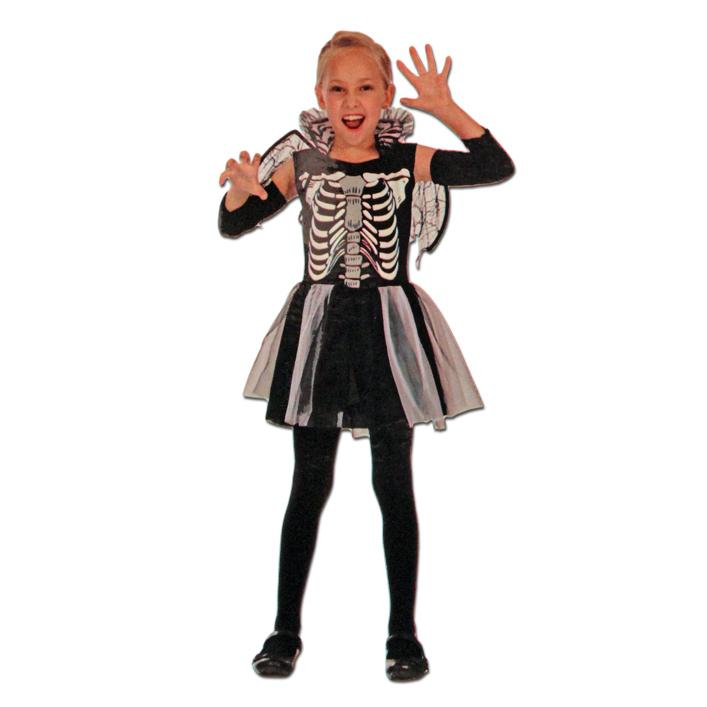Girls Skeleton Tutu Halloween Costume childrens, costume, fancy dress, girls, halloween, skeleton