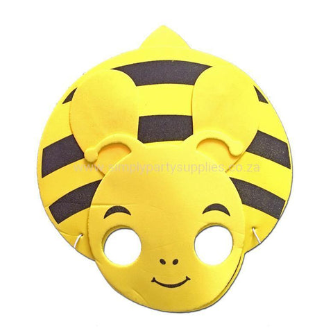 Bee Childrens Foam Animal Mask