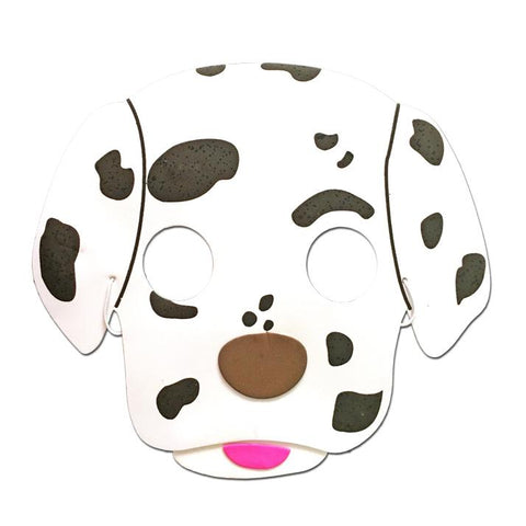 Dog Childrens Foam Animal Mask - Dalmation