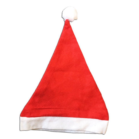Fancy Dress Costume Accessory - Economy Christmas Santa Claus Felt Hat