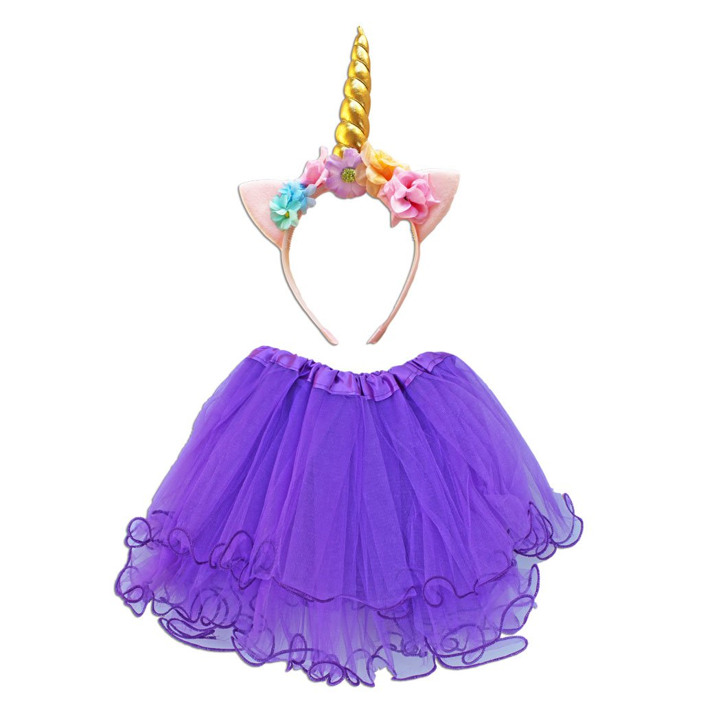 Buy Unicorn Princess Dress Up Set - Purple at Simply Party Supplies ...