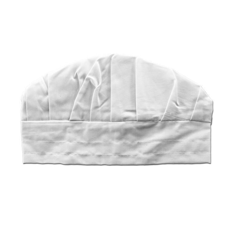 Fancy Dress Costume Accessory - Fabric Chefs Hat - White