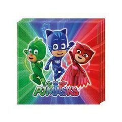 PJ Masks Napkins - Pack Of 20