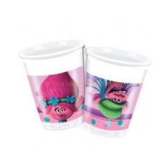 Trolls Plastic Cups - Pack Of 8