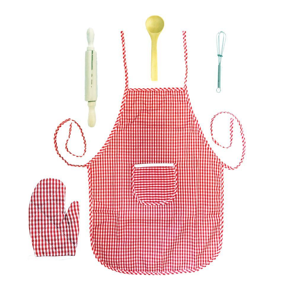 Fancy Dress Costume - Childrens Deluxe Chef Accessories Set