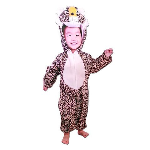 Cheetah Onesie Children's Costume - Fancy Dress Costume - Simply Party Supplies