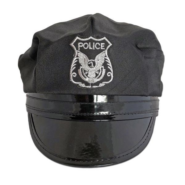 Adult Police Hat accessories, adult, black, costume, fancy dress, hats, mens, police, womens