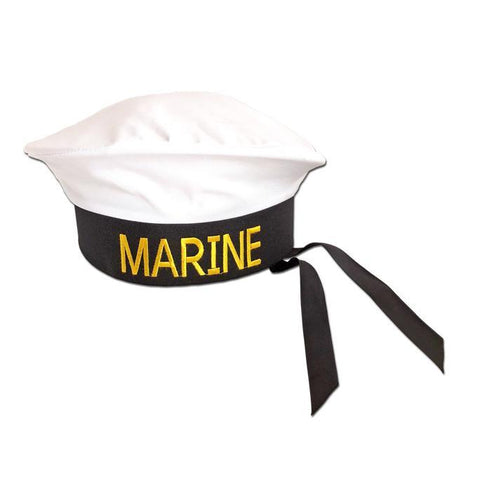 Marine Hat accessories, adult, captain, childrens, costume, fancy dress, hats, marine, mens, nautical, sailor, womens
