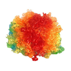 wig - Colourful Rainbow Clowns Wig