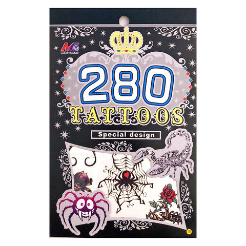 Halloween Temporary Tattoo Designs Booklet 15