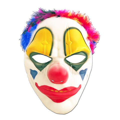 Scary Clown Mask adult, adult one size, childrens, clown, fancy dress, halloween, masks, mens, villains