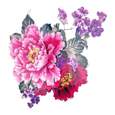 Floral Large Temporary Tattoo colour, floral, flower, large, tattoo, wholesale
