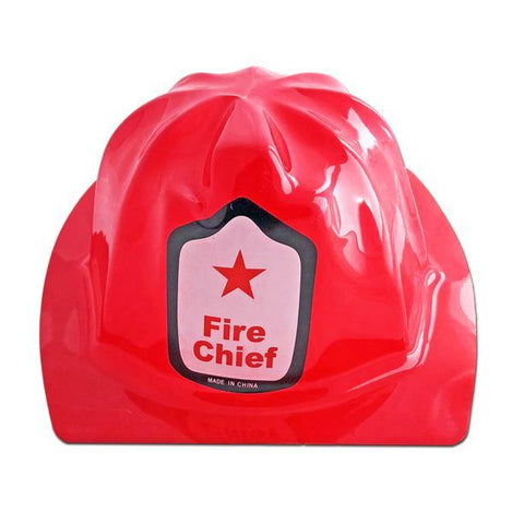 Budget Firemans Hat - Fancy Dress Costume Accessory - Simply Party Supplies