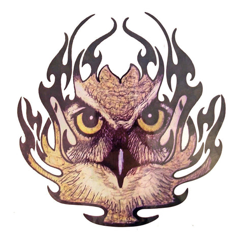 Tribal Flame Eagle Large Temporary Tattoo animal, colour, eagle, large, tattoo, tribal, wholesale