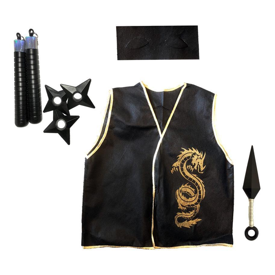 Childrens Ninja Set - Fancy Dress Costume - Simply Party Supplies