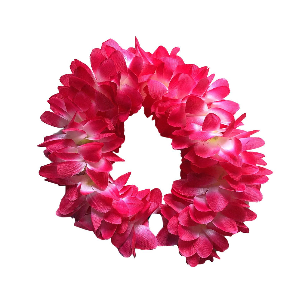 Fancy Dress Costume Accessory - Floral Headband - Cerise Pink