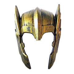 Adult Gladiator Mask - Gold - Masquerade Mask - Simply Party Supplies