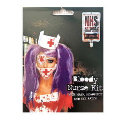 Bloody Nurse Halloween Set accessories, adult, costume, fancy dress, halloween, scary, womens