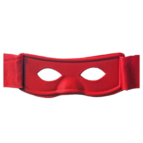 Superhero Fabric Eye Mask - Red