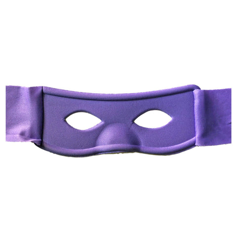 Superhero Fabric Eye Mask - Purple