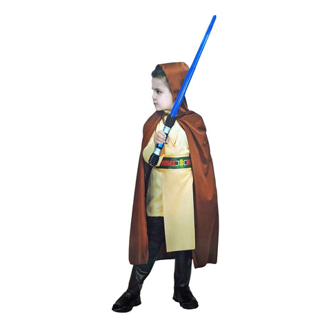 Childrens Jedi Costume Ages 7-9 - Fancy Dress Costume - Simply Party Supplies
