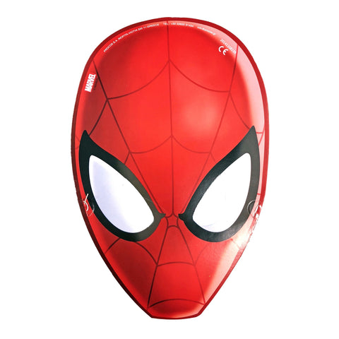 Spiderman Cardboard Cutout Mask avengers, cardboard cutout, fancy dress, masks, spider-man, spiderman, the avengers