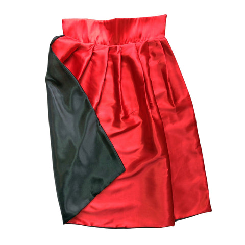 Childrens Satin Reversible Cape - 65cm boys, cape, childrens, costume, dracula, fancy dress, girls, halloween, magician, phantom of the opera, vampires, villains