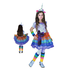 Girls Deluxe Unicorn Costume 7-9yrs