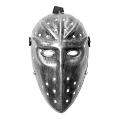 Jason Hockey Mask - Silver Long