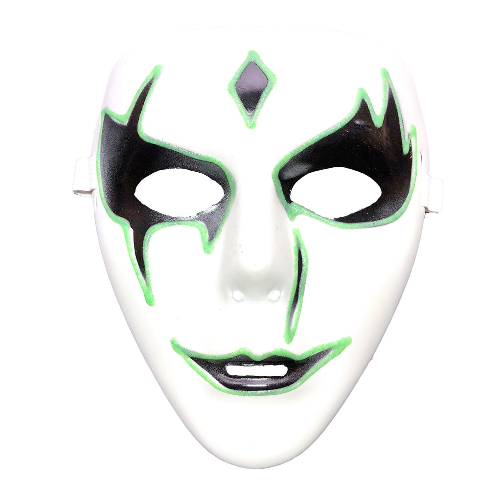 Halloween Half Mask 6 Styles Creepy Trick Treat Fancy Dress