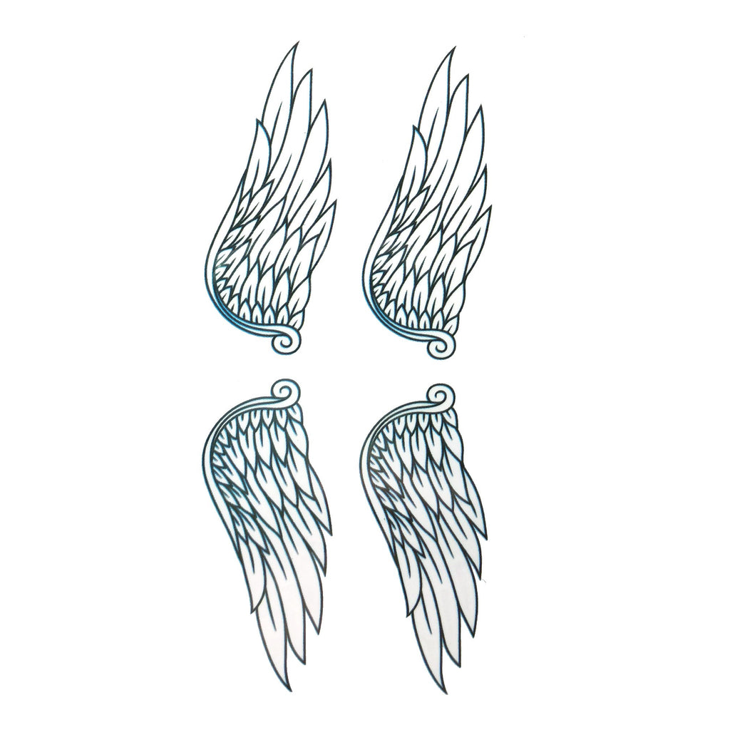 Set of Wings Small Temporary Tattoo colour, mini, small, tattoo, wholesale, wing, wings