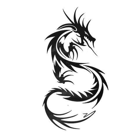 Dragon Small Temporary Tattoo dragon, mini, small, tattoo, tribal, wholesale