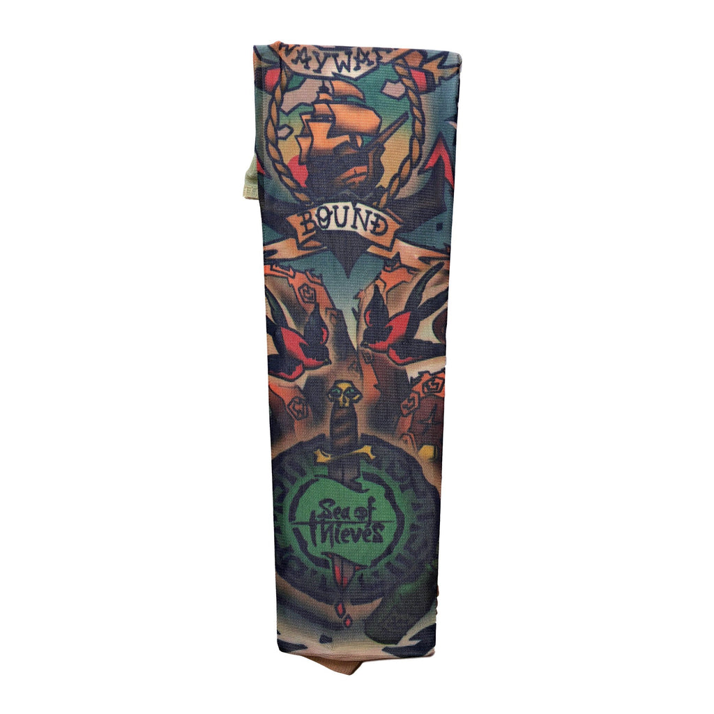 Fake Tattoo Sleeve (Single) - Sea Of Thieves 1 gangsta, gangster, mens, pirate, sleeve, stocking, tattoo, themed
