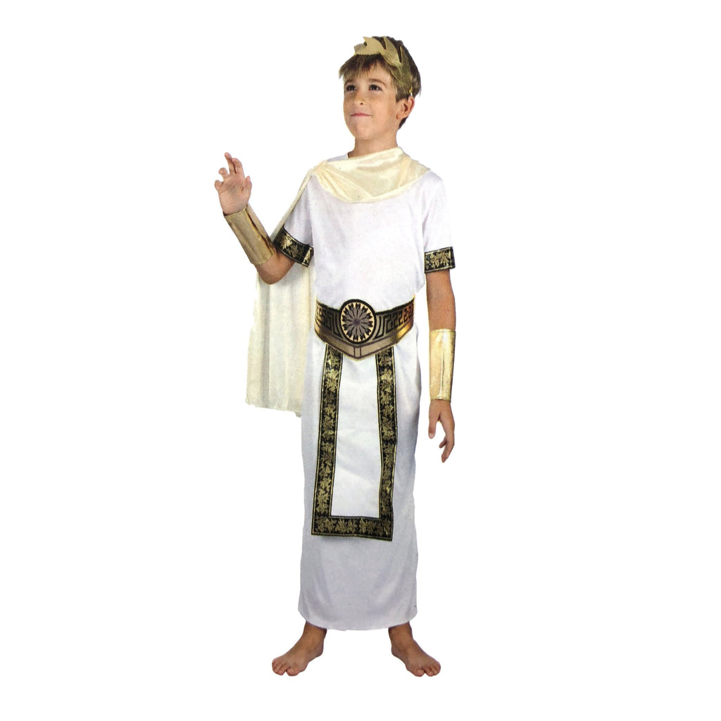 Boys Roman Caesar Costume - Fancy Dress Costume - Simply Party Supplies