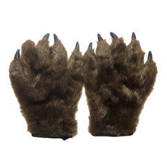Hairy Hands Claw Gloves - Adult