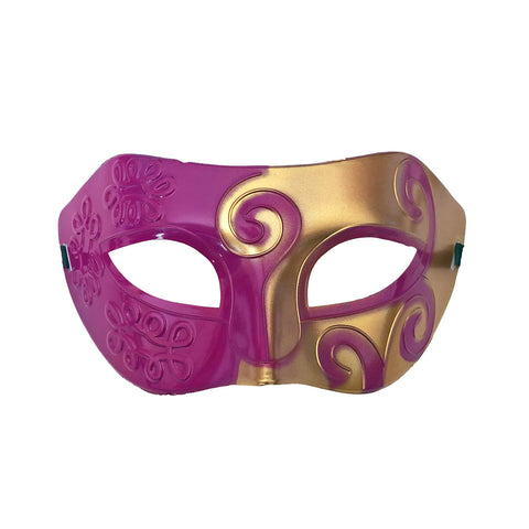 Masquerade Mask - Gold and Light Purple