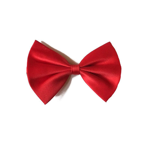 Satin Bow Tie - Red 1920's, adult one size, alice in wonderland, bow tie, bow tie only, boys, childrens, costume, fancy dress, gangster, great gatsby, maffia, mafia, magician, mens, mickey mouse, phantom, phantom of the opera, red