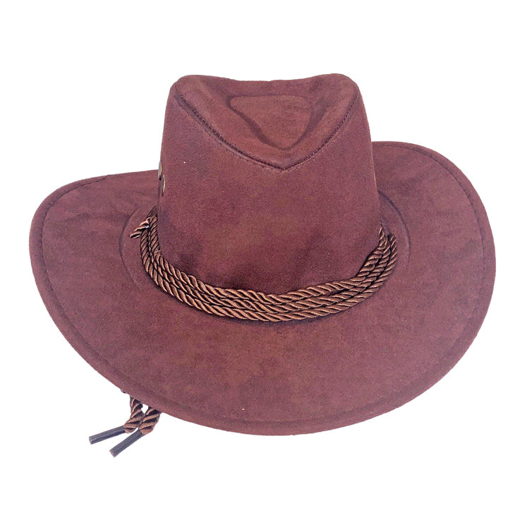 Childrens Cowboy Hat - Brown - Fancy Dress Costume Accessory - Simply Party Supplies