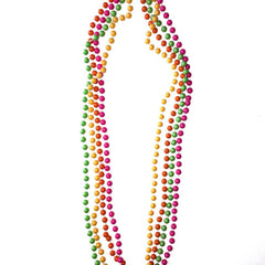 Round Neon Party Beads