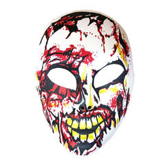 Zombie Half Mask fancy dress, half masks, halloween, imported, masks, mens, scary, zombie