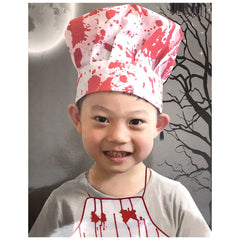 Childrens Bloody Halloween Chefs Hat