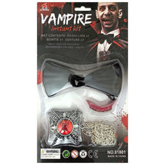 Instant Vampire Kit With Medallion