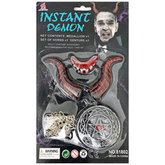 Instant Demon Kit With Medallion